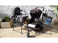 Mountain buggy swift with carry cot