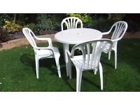 Garden Table and Chairs - Collect from Kenilworth