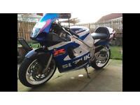 2000 GSXR Srad 600cc