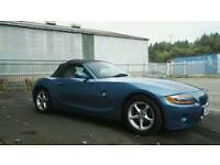 2004 BMW Z4 2.5 auto PETROL SOFT TOP VERY LOW MILES SPOTLESS INSIDE AND OUT FULL HISTORY LONG MOT