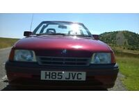 MK2 Astra Bertone convertible, good project or spares. *future clasic* barn find