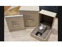 Burberry Ladies The City Check Diamond Watch BU9224