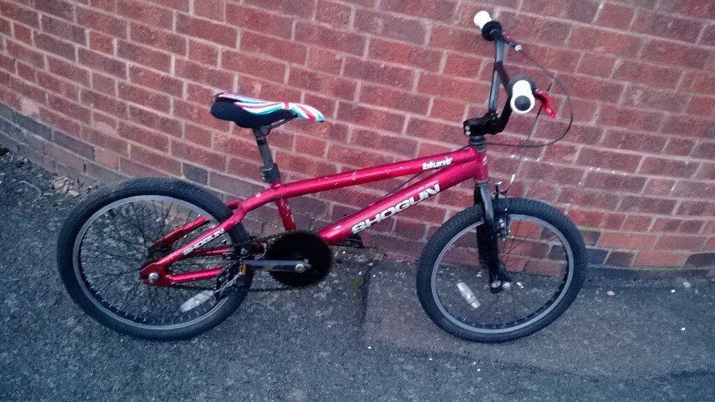 "shogun blunt bmx bike 20"" wheels"