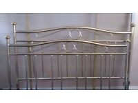 Reproduction Brass Double Bed