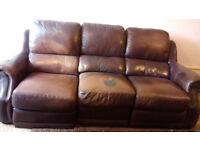Reclining Sofa (Burntwood)