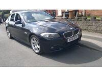 BMW 5 Series 520d M Sport Saloon SAT NAV,2011, Diesel Automatic ( 184 bhp),MOT 3/10/2018, ONE OWNER