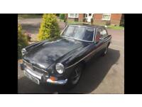 1975 MGB GT British Sports Car - Original 1.8 engine