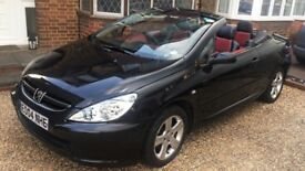 PEUGEOT 307cc £750 , COMES WITH £500 NUMBER PLATE, LEATHER SEATS