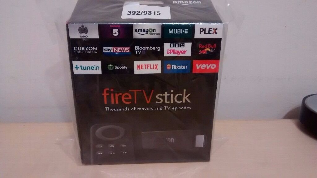 Brand New In Box Amazon Fire Stick Fully Loaded with Movies Box Sets Music Kids TV Bargain