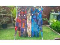 Hippy dungarees (festival) bundle