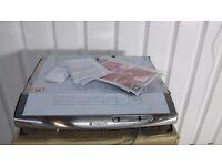 HOTPOINT HTV10S Visor Cooker Hood - Stainless Steel