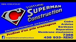 L'excellence à Meilleur Prix Toiture Superman Construction couvreur