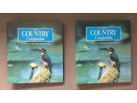 50 Country Companion Magazines Wildlife Collection In 2 Hardback Ring Binders, Birds Animals Plants