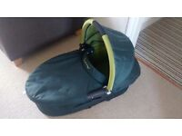Quinny Dreami pushchair carry cot.