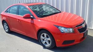 2014 Chevrolet Cruze 2LT - LEATHER SEATS, POWER SUNROOF, TURBO!