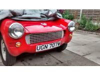 mg midget ,retro style, much admired,ready to go