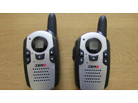 Walkie Talkie set. 8 channels, boxed in perfect working order