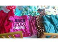 BUNDLE OF GIRLS CLOTHES AGE 9/10YRS