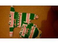 Celtic baby grow & vest