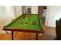 Pegasus 6x3ft folding pool / snooker table