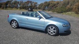 Audi convertible sport, 3.0 v6 petrol.