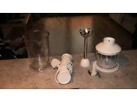 Free Kitchen Pots, Crockery, Utensils, Stick Blender