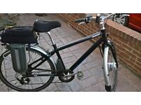 GIANT EXPRESS RS2 ELECTRIC HYBRID BIKE LOOK CHEAP 3 MODE SYSTEM
