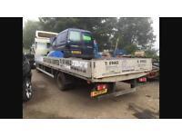 Renault midlum scaffolding truck