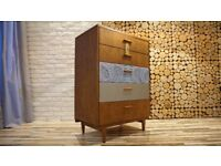 Chest of Drawers BeithCraft Scotland ,VINTAGE ,RETRO, SHABBY CHIC (FREE DELIVERY)