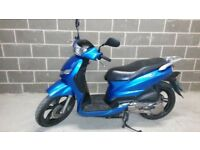 Peugeot Tweet 125cc Scooter Moped, 2016, 7.5k miles (like honda ps pes pcx sh piaggio liberty)