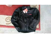 Gerbring hearted motorcycle jacket size large brand new colour black