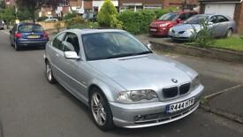 BMW 3 series coupe Low Mileage