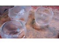 Round Glass Bowl Vase Fish Centre Piece Wedding Supplies Flower Floating Candles