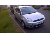 Ford Fiesta Zetec, 2003, silver, petrol