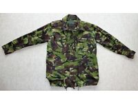 """DPM Field Combat Jacket 35-37"""" inch Chest 160/88 in VGC (ATC CCF cadets british army woodland navy)"""