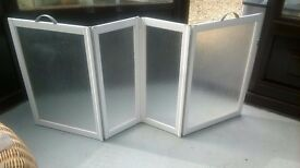 Portable Shower Screen - Disabled Carer Screen Enclosure disability