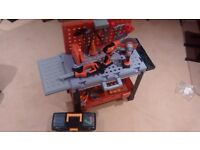 Kids Workbench, toolbox and battery powered tools