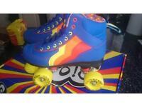 Retro Rio Roller quad roller skates blueberry