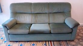 Sofa - Parker Knoll Three Piece Suite