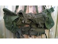Army 1958 pattern webbing set in good condition