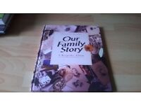 OUR FAMILY STORY A KEEPSAKE BOOK