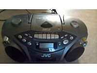 JVC Stereo Radio,CD, Tape,