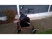 NICE MOBILITY WALKER / AID WITH BAG