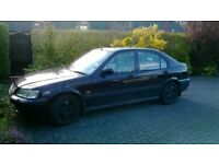 Reliable Black Five Door 1999 Honda Civic 1.6ES with Black Quality Leather Interior