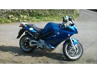BMW F800ST , F 800 ST Only 12,150 Miles, Exc. condition in metallic electric blue , heated grips ABS