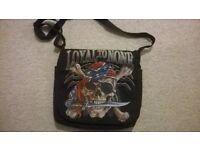 'Loyal to None' messenger bag (like new)