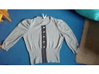Next Grey jumper. Size 16. As new