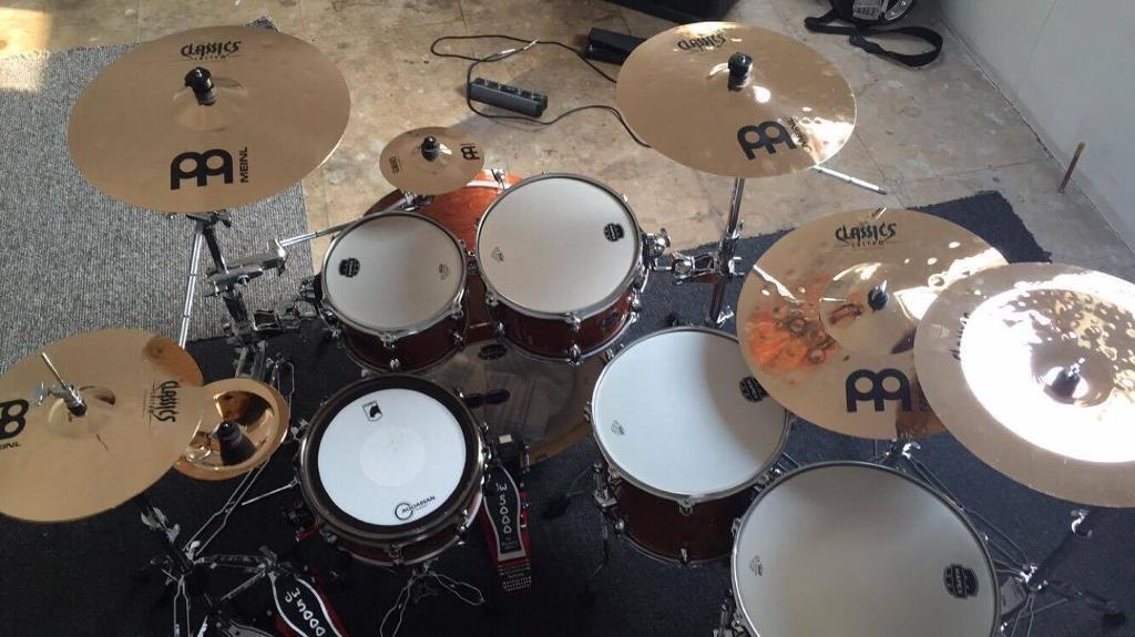 Mapex Armory Drum Kit Chris Adler Snare Dw5000 Pedals