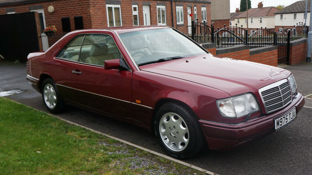 Mercedes w124 e320 coupe c124 1994 125k lpg in barnsley for Mercedes benz e320 1994