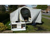 Conway camargue trailer tent